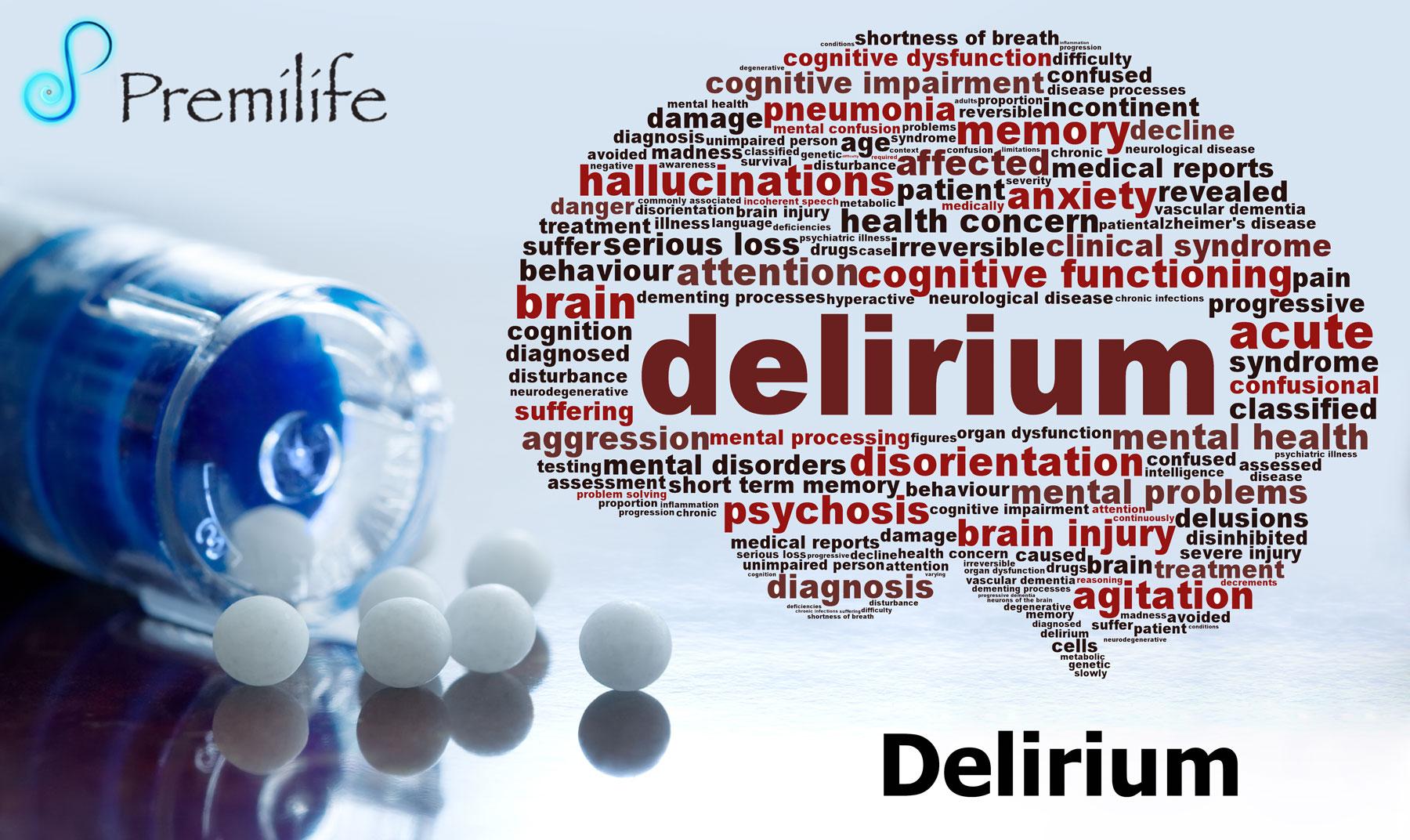Delirium - Premilife - Homeopathic Remedies