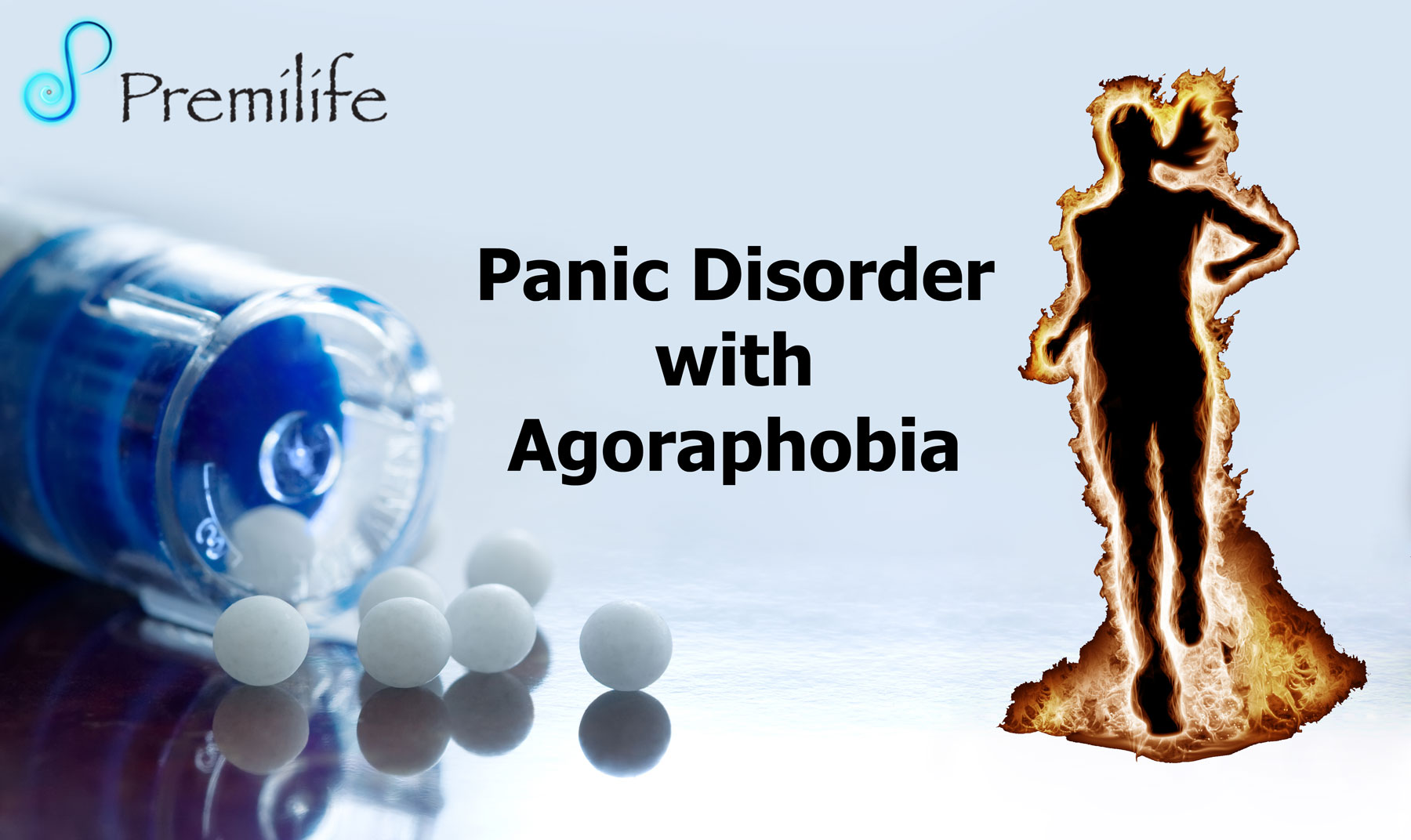 panic disorder with agoraphobia Panic disorder is a type of anxiety disorderit causes panic attacks, which are sudden feelings of terror when there is no real danger you may feel as if you are losing control.