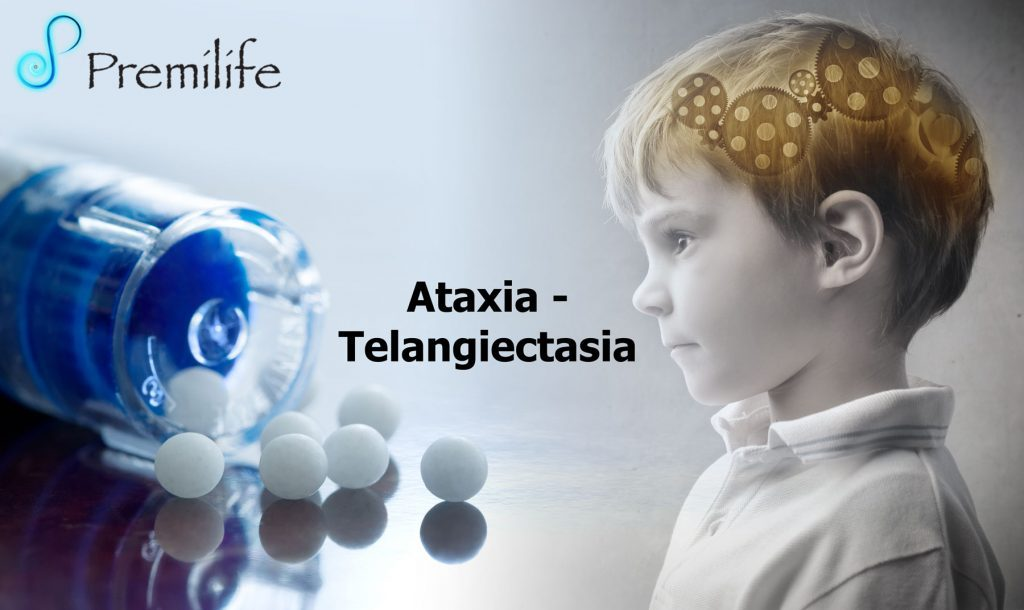 ataxia telangiectasia Ataxia telangiectasia is a rare multisystem disorder which carries an autosomal recessive inheritance, sometimes classified as a phakomatosis it is characterised by multiple telangiectasias, cerebellar ataxia, pulmonary infections and immunodefi.